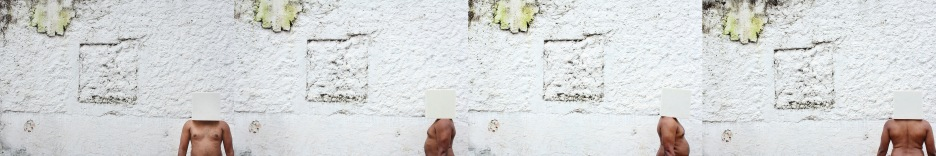 Corpo em quadrado B | 30 x 180 cm | Foto: Heloá Fernandes | 2012