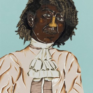 Dalton Paula | Rita Cebola | Óleo e folha de ouro sobre tela | 45 x 61 cm | 2020 | Foto: Joerg Lohse